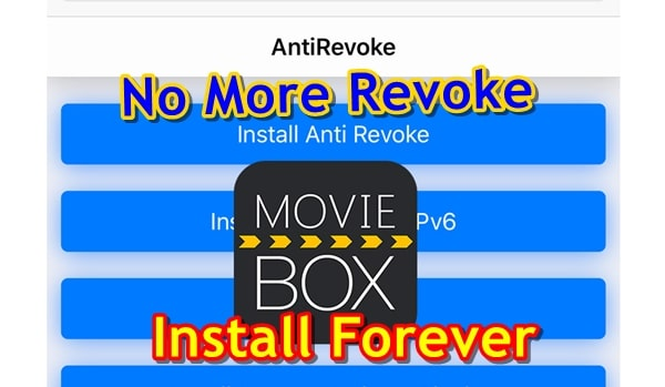 How to Install MovieBox Permanent on iPhone, iPad with
