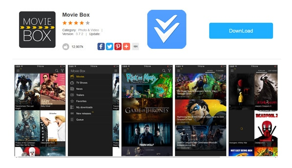 movie box download for iphone box for iphone with vshare ios 11 7 17818